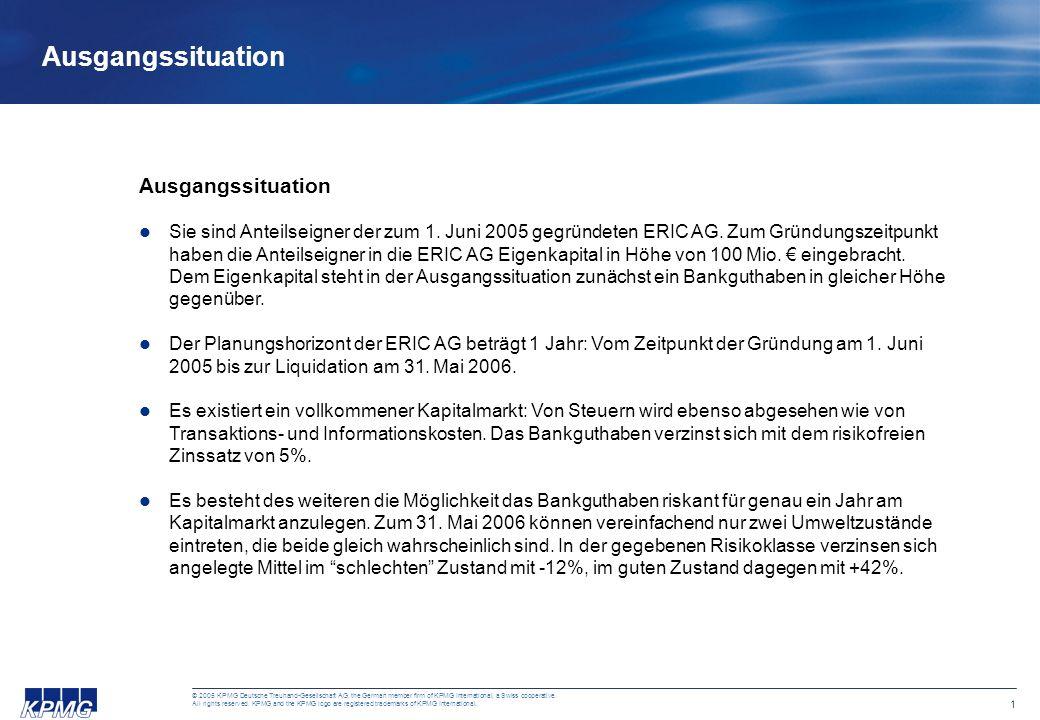 11 © 2005 KPMG Deutsche Treuhand-Gesellschaft AG, the German member firm of KPMG International, a Swiss cooperative.