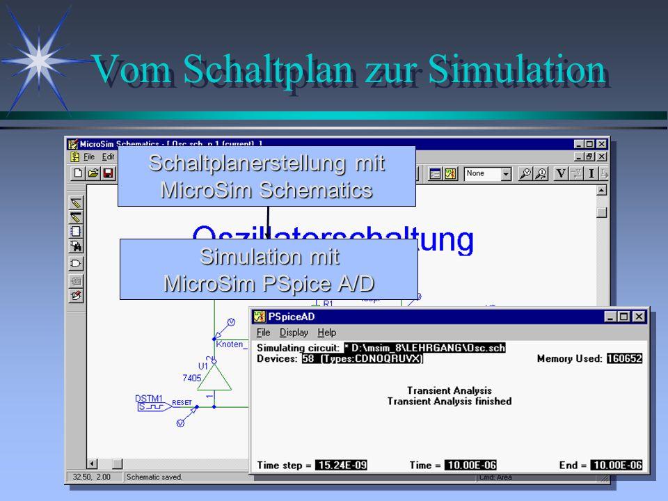 Einbinden von Grafik und Text ä Einbinden von BMP-, DIB-, WMF- und EMF-Dateien direkt im Schaltplan.