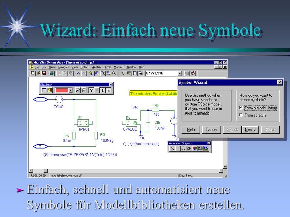 Wizard: Einfach neue Symbole ä Einfach, schnell und automatisiert neue Symbole für Modellbibliotheken erstellen.