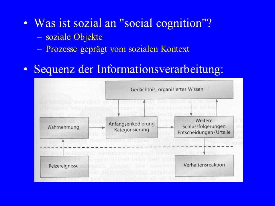 Was ist sozial an
