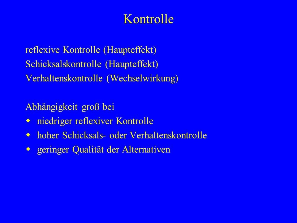 Ilse Natur Ilse Haus Paul Natur -+ Paul Haus -+ Reflexive Kontrolle (Ergebnisse der Frau)