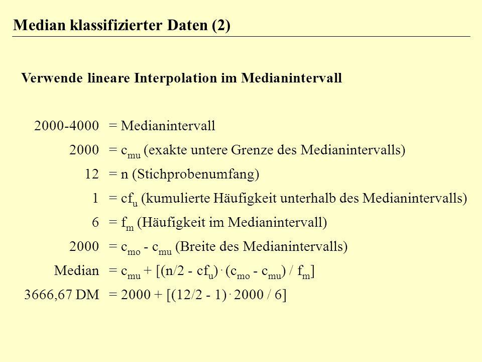 symmetrisch linkssteil x ~ x h x ~ x h x ~ xh rechtssteil Die Lage der Mittelwerte in verschiedenen Verteilungen