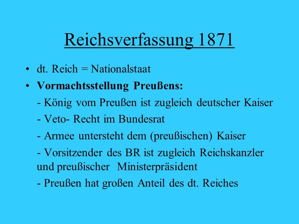Reichsverfassung 1871 dt.