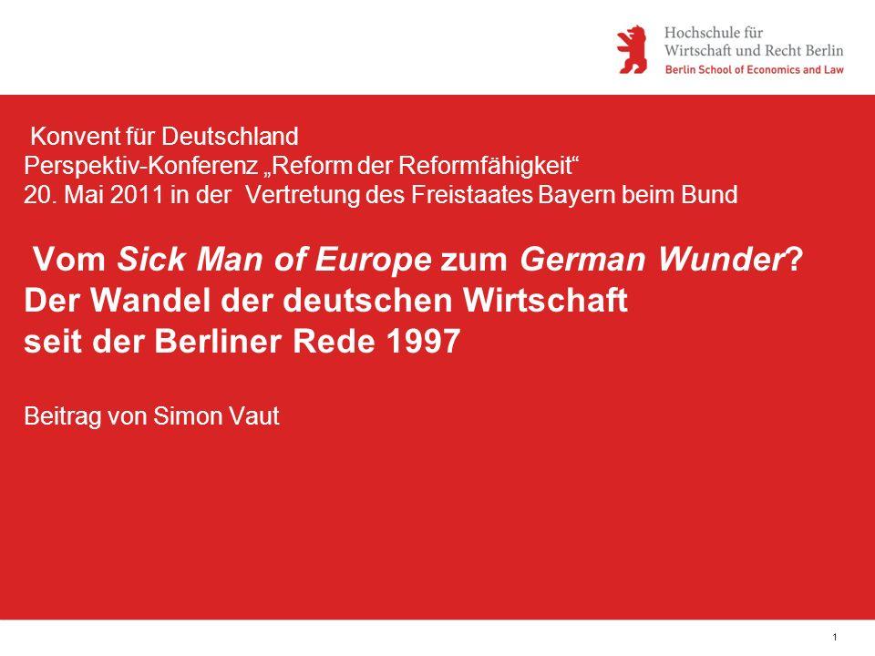 Fußzeile1 Konvent für Deutschland Perspektiv-Konferenz Reform der Reformfähigkeit 20.