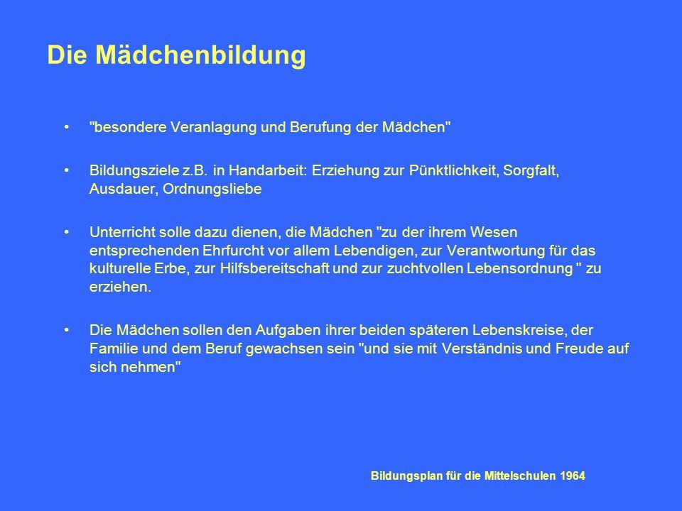 Aus: Bildungsplan für die Realschulen Baden-Württembergs.
