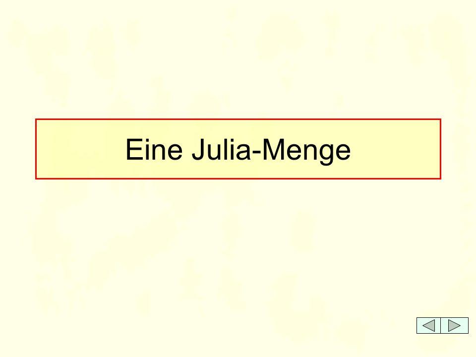 Eine Julia-Menge