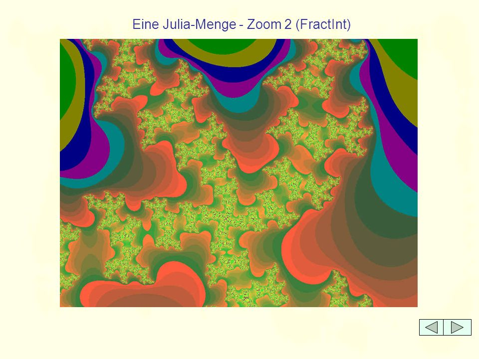 Eine Julia-Menge - Zoom 2 (FractInt)
