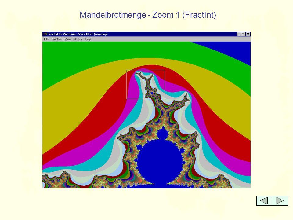 Mandelbrotmenge - Zoom 12 (FractInt)
