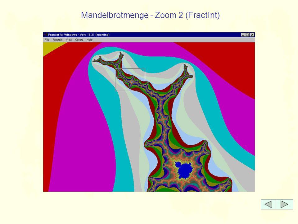 Mandelbrotmenge - Zoom 2 (FractInt)
