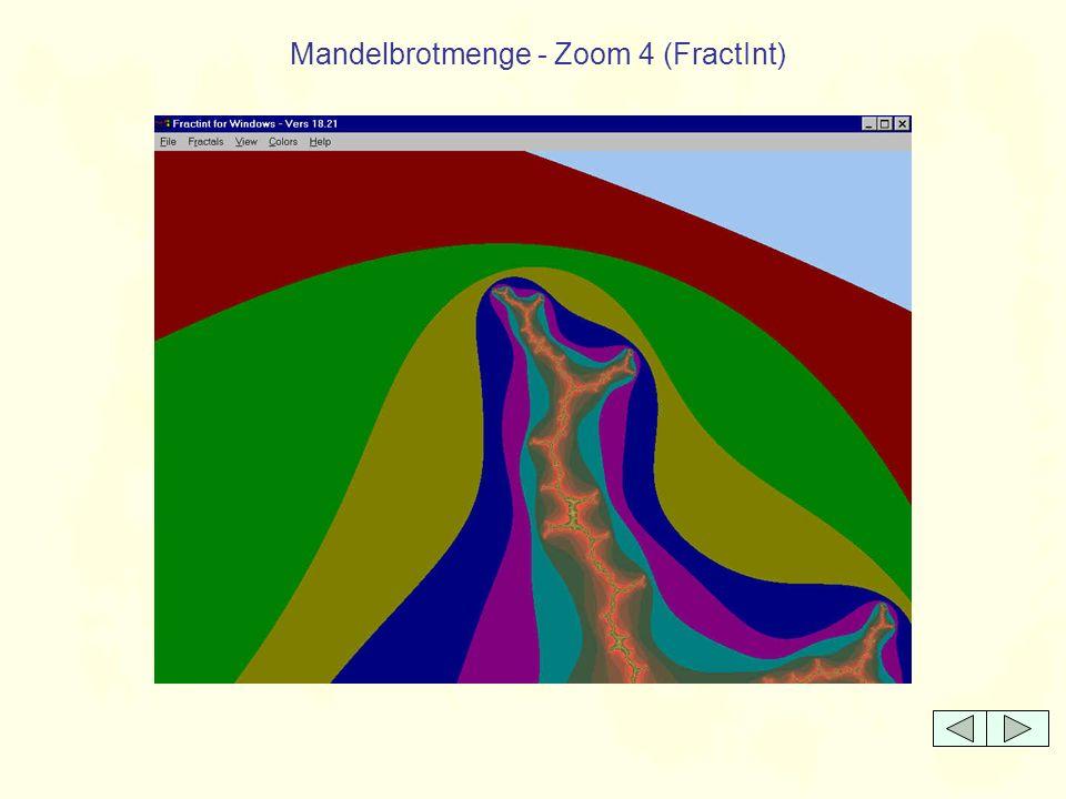 Mandelbrotmenge - Zoom 4 (FractInt)