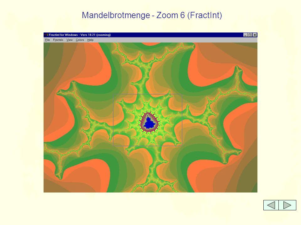Mandelbrotmenge - Zoom 6 (FractInt)