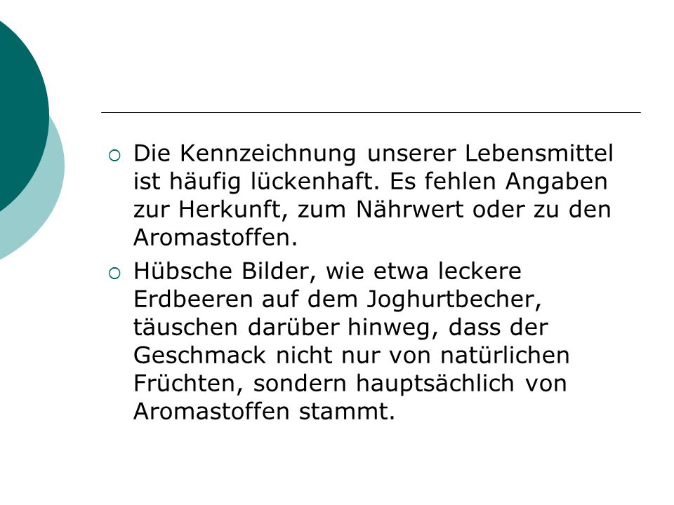 Punkte 1 bis 3 an sichtbare Stelle an gut sichtbarer Stelle, in deutscher Sprache, leicht verständlich, deutlich lesbar, unverwischbar anzubringen.
