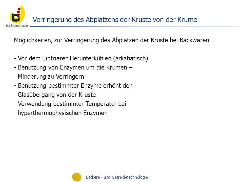 Bäckerei- und Getreidetechnologie Prof.Dr.