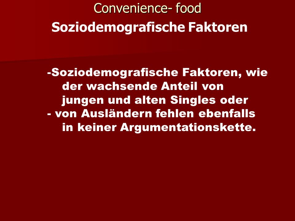 Marktentwicklung Convenience Functional Food.