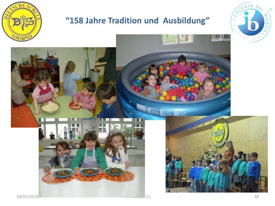 158 Jahre Tradition und Ausbildung 18/01/201438WWW.DSO.CL