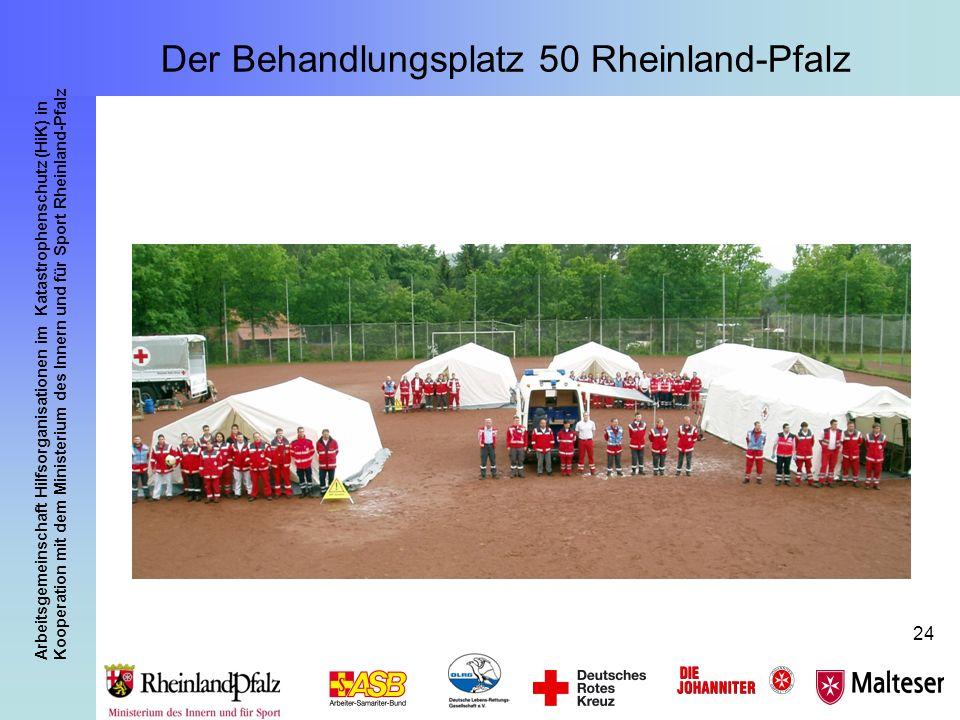 Arbeitsgemeinschaft Hilfsorganisationen im Katastrophenschutz (HiK) in Kooperation mit dem Ministerium des Innern und für Sport Rheinland-Pfalz 24 Der
