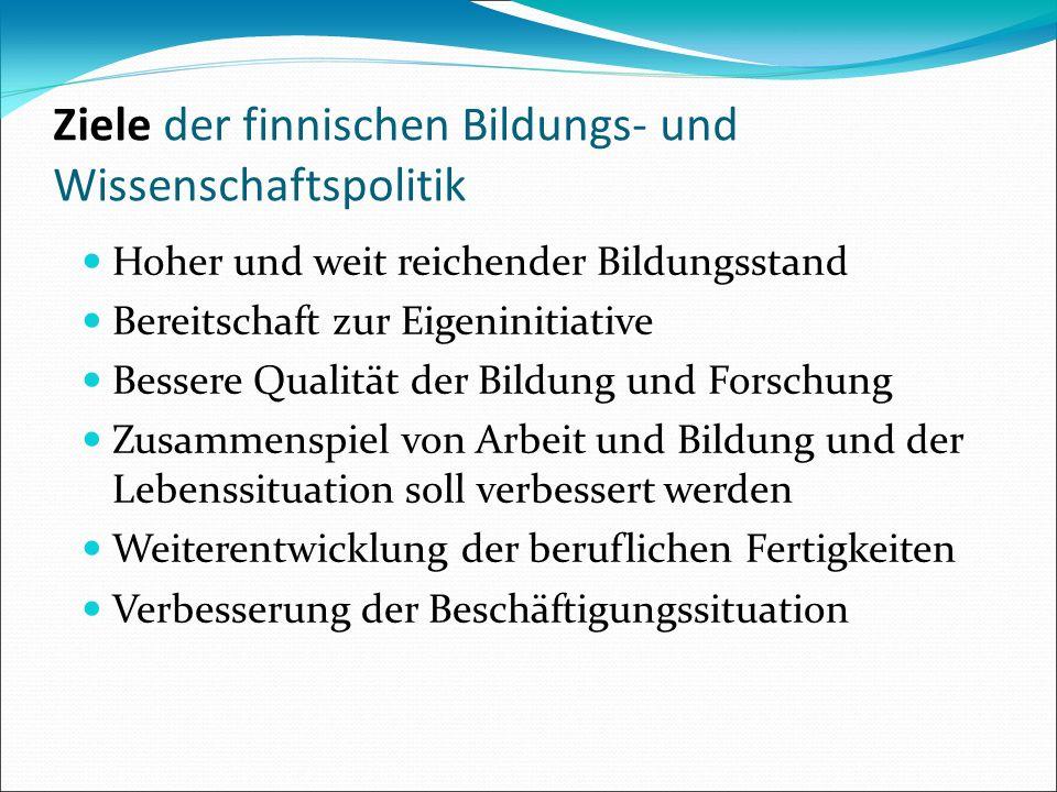 Zentrale Verwaltung Parlament: Festsetzung der gesetzlichen Rahmenbedingungen Festsetzung der allgemeinen Grundsätze Umsetzung der Politik Regierung Bildungsrat Bildungsministerium