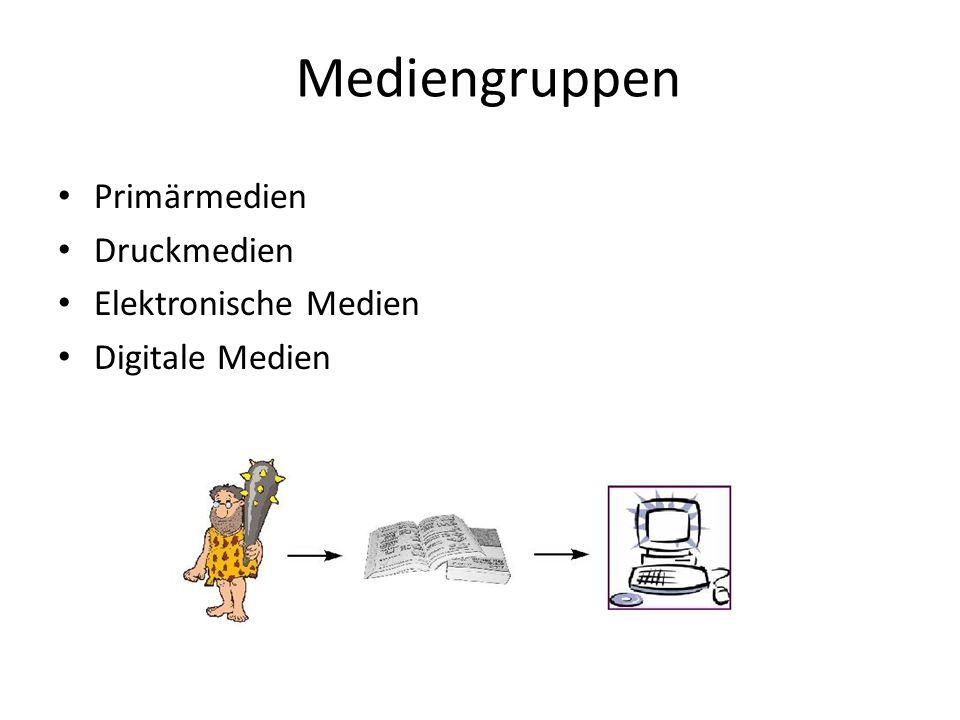 Die Medien der Antike Ca.2500 vor Chr. bis ca. 800 nach Chr.