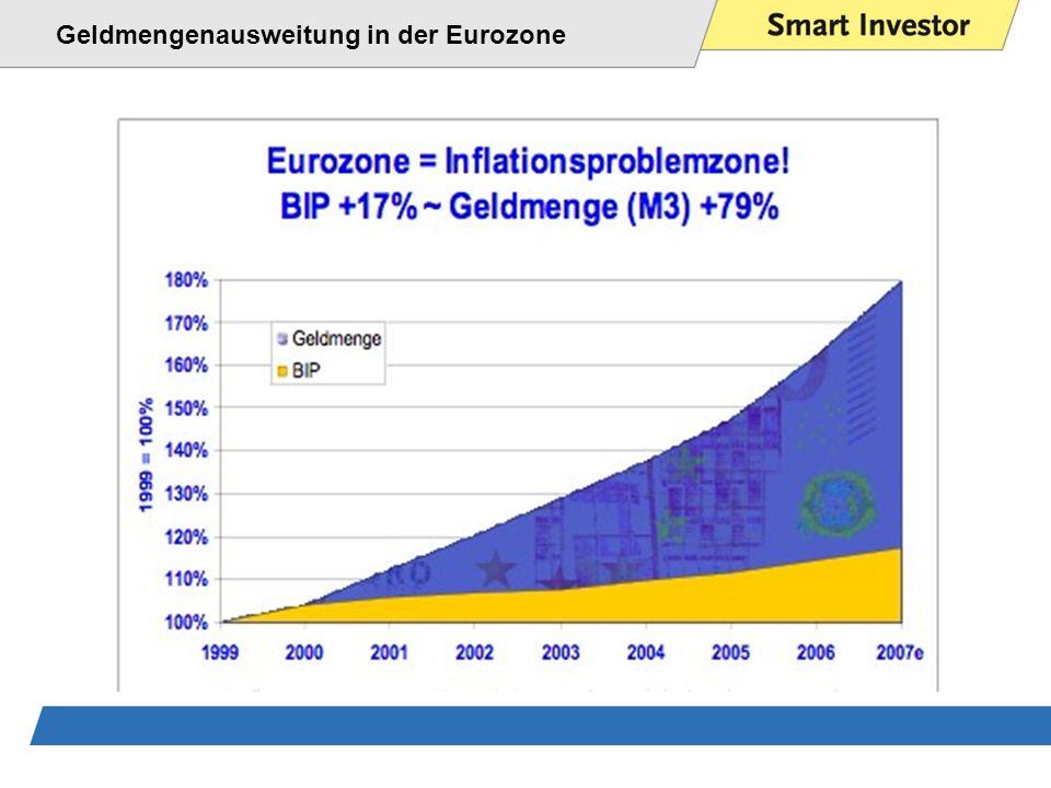 Geldmengenausweitung in der Eurozone