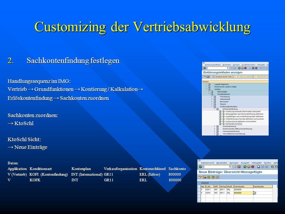 Lieferung und Faktura Handlungssequenz im SAP Anwendungsmenü: Logistik Vertrieb Verkauf Auftrag Folgefunktionen Faktura Folgefunktionen Faktura Der passende Lieferbeleg wird vom System vorgeschlagen Der passende Lieferbeleg wird vom System vorgeschlagen Faktura Speichern Faktura Speichern