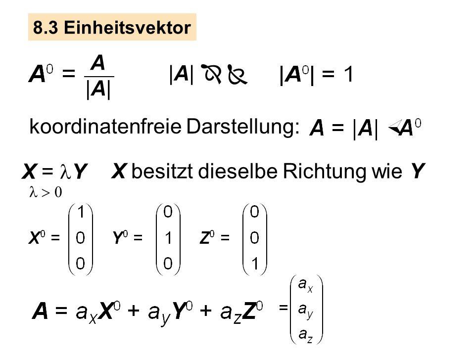 /4 8.2 Schreiben Sie die Strecken als Vektoren A, B, C, D. Berechnen Sie daraus L und |L|.
