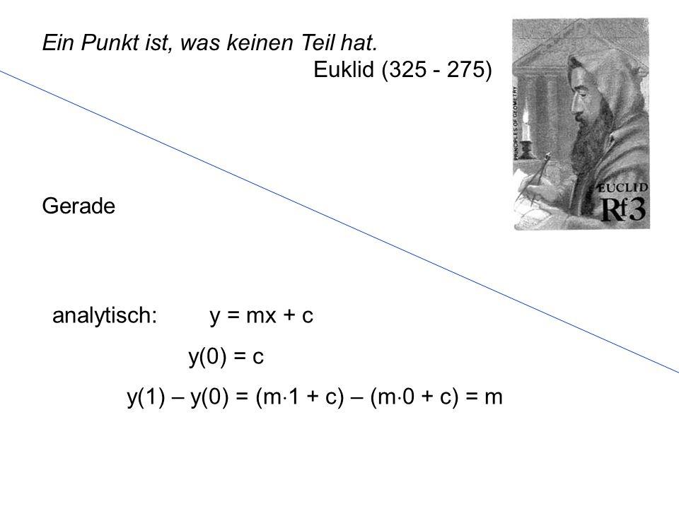 G = { P   P = A + B mit } Durch zwei Punkte des 3 verläuft genau eine Gerade.