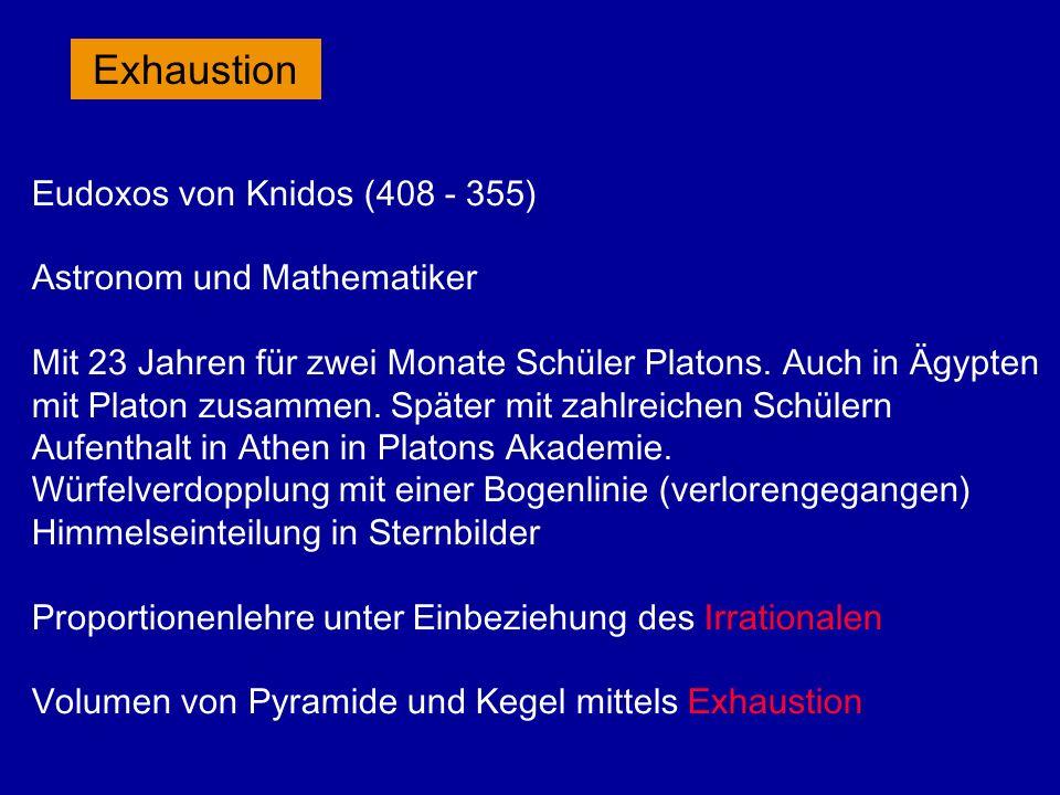 Archimedes (287 - 212) Schneckenlinie: Drehung einer Geraden, auf der ein Punkt mit konstanter Geschwindigkeit läuft.