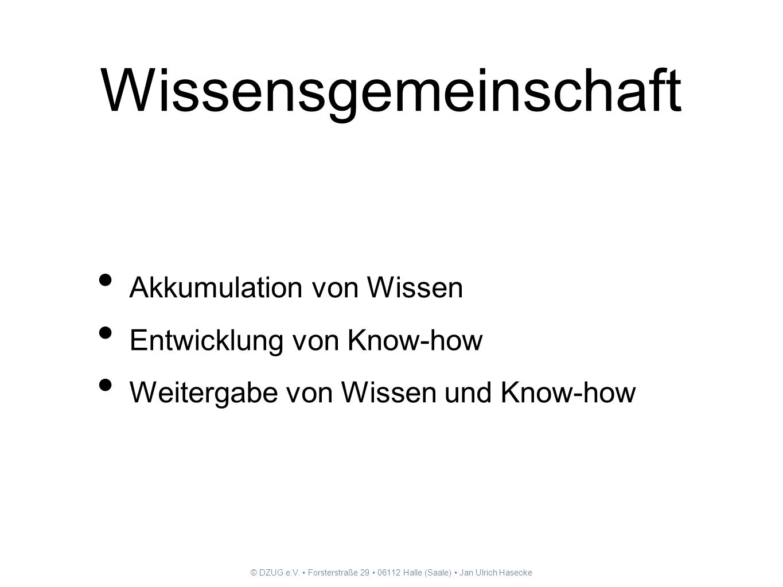 © DZUG e.V. Forsterstraße 29 06112 Halle (Saale) Jan Ulrich Hasecke Anwender- emanzipation