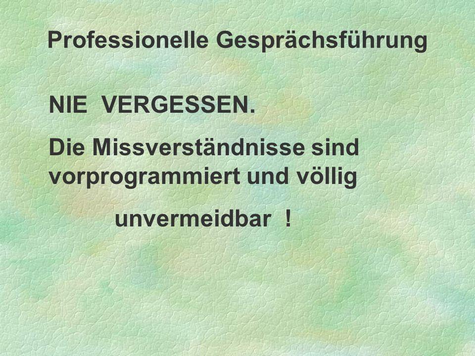 Professionelle Gesprächsführung Redlich, A.& Richter, B.
