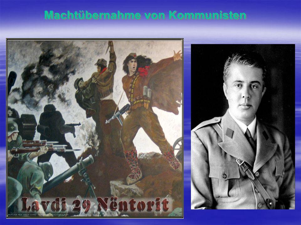 1945-1946 1945 7 Divisionen 45 000 Soldaten 1946 4 Divisionen 35 000 Soldaten 1944 Nationalbefreiungsarmee 1945 Nationale Armee 1949 Volksarmee