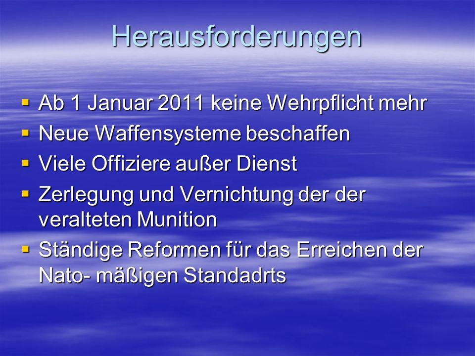 ALTHEA (B i H) 1 Grp EOD ISAF MISSION, 2 Kp IRAQI FREEDOM 2 Kp (+) COMMANDO 2003-2009 UN MISSION (GEORGIA) 3 UN-Beobachter BEITRAG FÜR DEN FRIEDEN EUFOR 1 Kp (+) COMMANDO ALTHEA (BiH) 1 Grp EOD