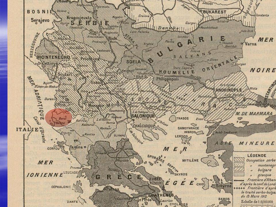 Geburtsstunde der albanischen Armee 28. 01.1920