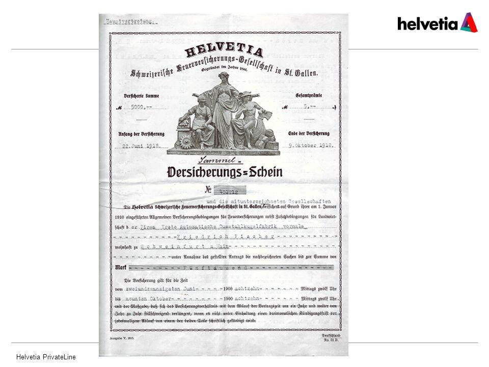 Helvetia PrivateLine15 Produkt Haftpflicht – Deckungssummen Deckungssummen 3 Mio.