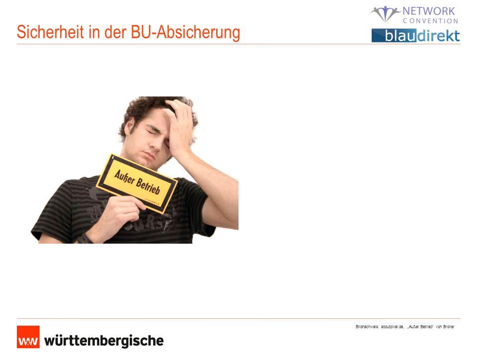 Sicherheit in der BU-Absicherung Bildnachweis: aboutpixel.de, Außer Betrieb von Broiler