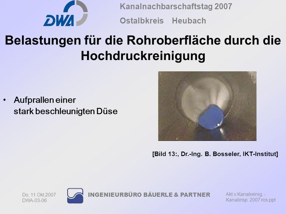 Kanalnachbarschaftstag 2007 Ostalbkreis Heubach Akt.v.Kanalreinig.
