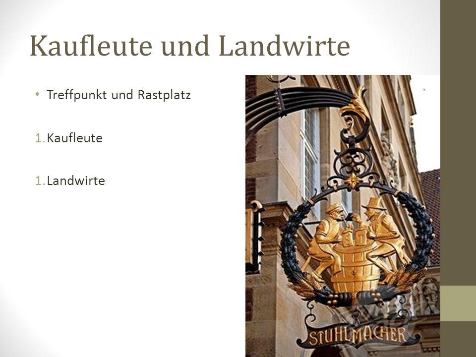 Münsters Kneipen Struktur Unterschieden: 1.Ältere Generation 1.Jüngere Generation