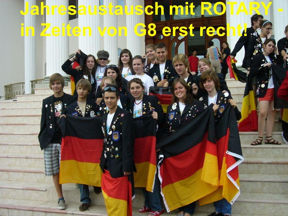 Referent: Martin EggertJugenddienst D1900: Vortragsthema Jahresaustausch mit ROTARY - in Zeiten von G8 erst recht!