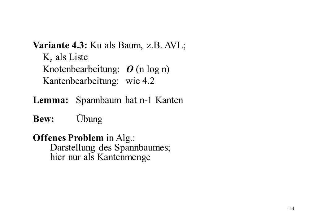 14 Variante 4.3: Ku als Baum, z.B.