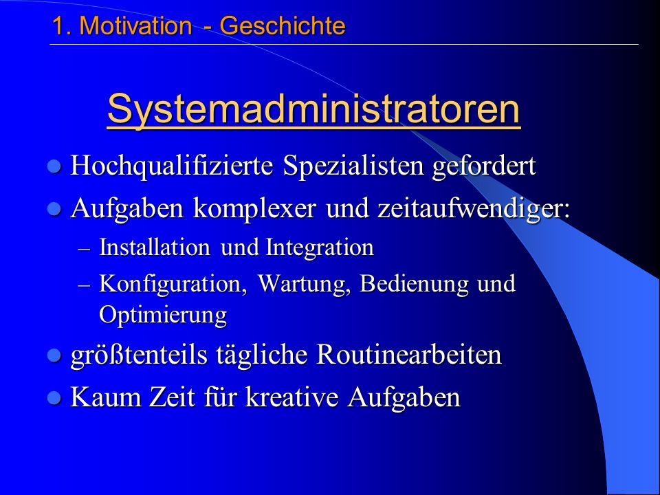 Struktur Autonomic elements 1 Autonomic Manager > 1 Managed element 4. Architektur