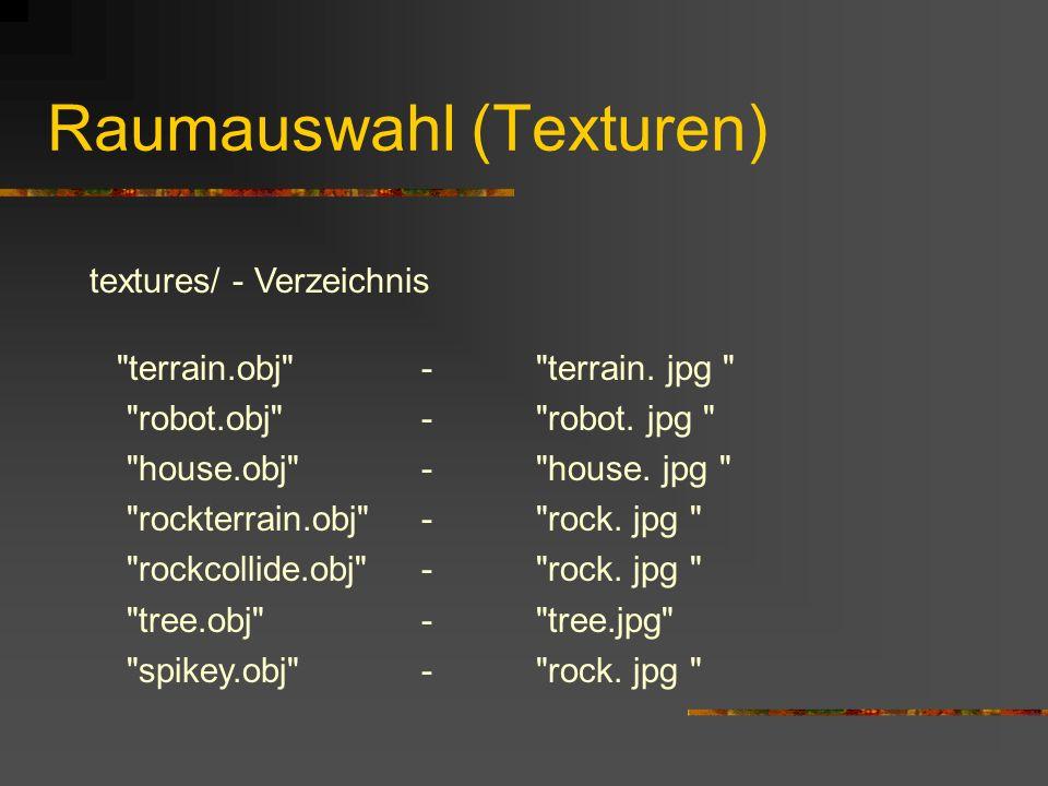 Literatur Internet: http://developer.nvidia.com/object/understanding_w.htm // Was ist die w-Koordinate http://www.animationartist.com/2000/Tutorials/LWTrees/lwtrees.html // Bäume mit LightWave http://j3d.org // Allgemein zu Java3D http://java.sun.com/docs/books/tutorial/extra/fullscreen/ // Der Fullscreen Exclusive Mode
