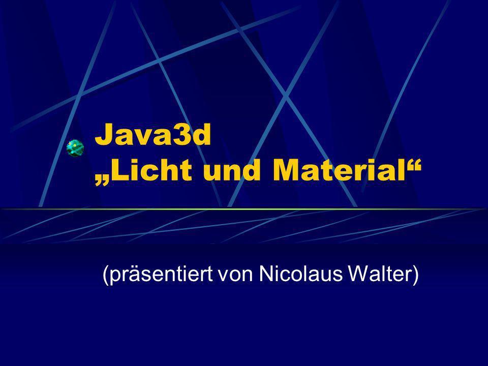 Überblick Licht Material Surface Normale Lichteinfluss Leuchtende Objekte Schatten