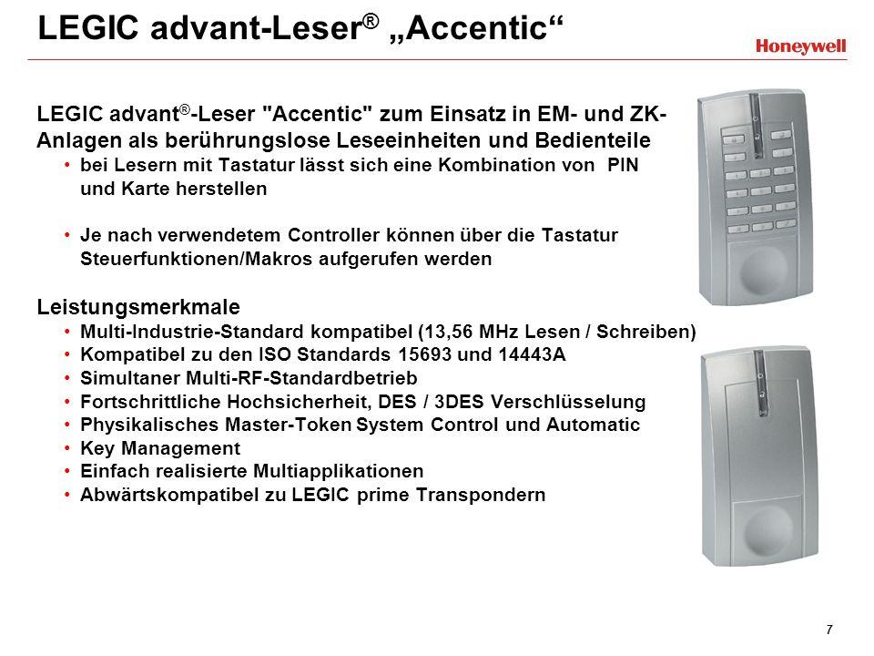 18 Neues Bedienteil TouchCenter Bedienung – viel Gewohntes: - Bedienung ohne oder mit 4-, 5-, 6-stelligem Code - MG ansehen, löschen, intern/extern ein-/ausschalten - Bereiche intern scharf-/unscharf schalten, löschen - Ereignis- und Alarmspeicher ansehen, Alarme löschen - Gehtest und Diagnose Audio/Display aktivieren - Wartungstermine und Freigabe Fernwartung - Gleiche LED-Funktionalität wie 012570 Bedienung - viel Neues: - Verschiedene Farbschemen möglich - Start-Bildschirm über SD-Card austauschbar - Bildschirm-Reinigungsmode - BUS-2-Adresse über Menü einstellbar