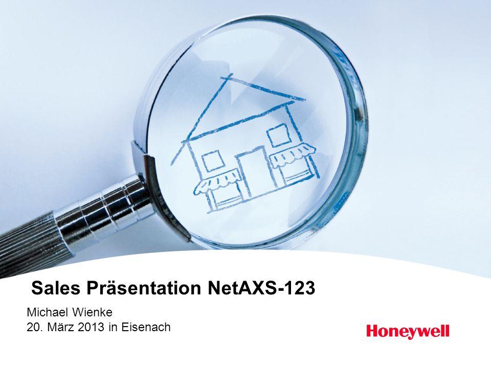 Honeywell Proprietary Honeywell.com 12 Document control number NetAXS-123 Video Add-On Kit Kit Bestandteile: NX123VIDE Web Oberfläche, Manuals und Schnellanleitung in deutscher Sprache verfügbar