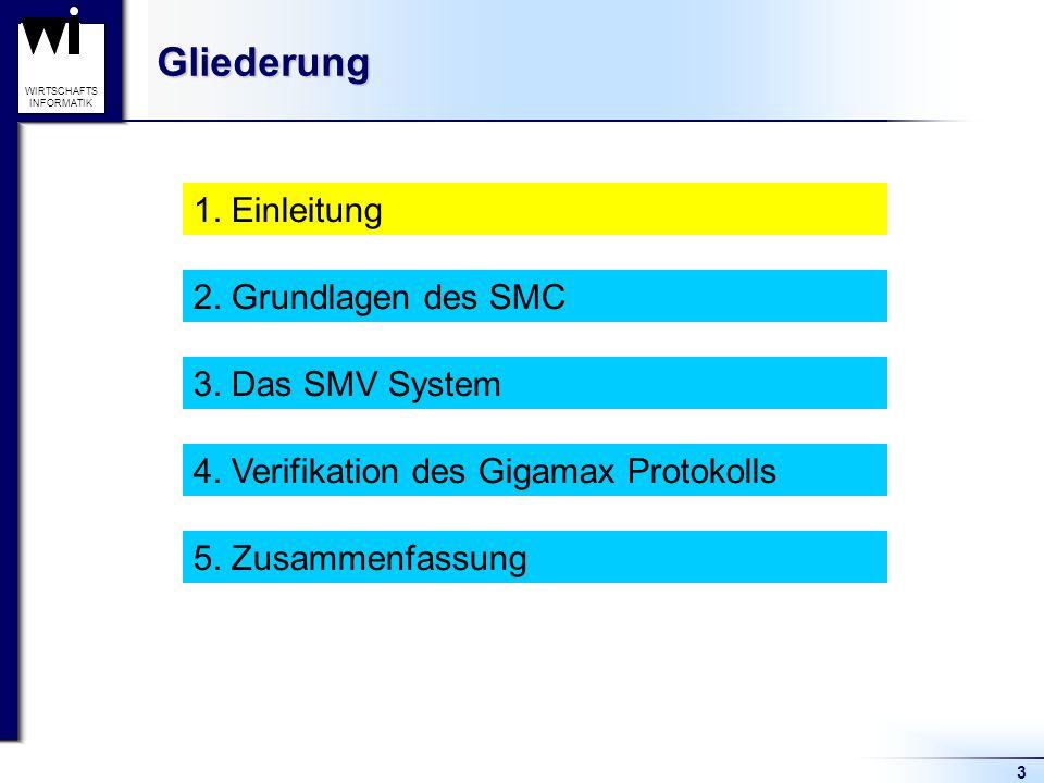 3 WIRTSCHAFTS INFORMATIKGliederung 1. Einleitung 2.