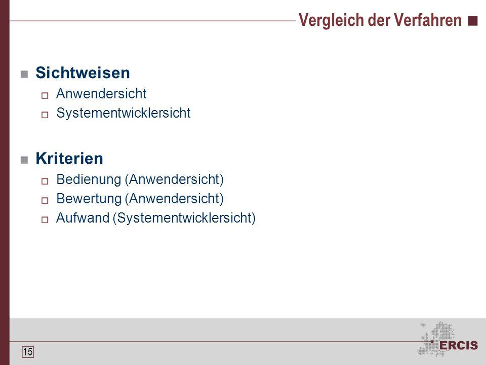 14 Theorembeweiser - Lösungsansatz Integration von Theorembeweisern und CAS Ausstattung von CAS mit Beweistechniken (Tactics) Problem: Ungeprüfte Operationen vs.