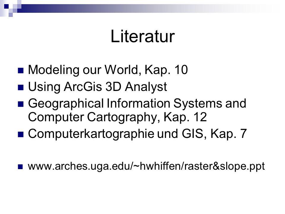 Literatur Modeling our World, Kap.