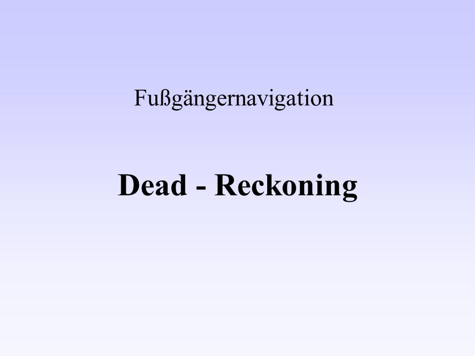 20.06.2002GIS-Seminar Fußgängernavigation - Deadreckoning Verena Lobner 12 Störungen keine Störungen harte magn.
