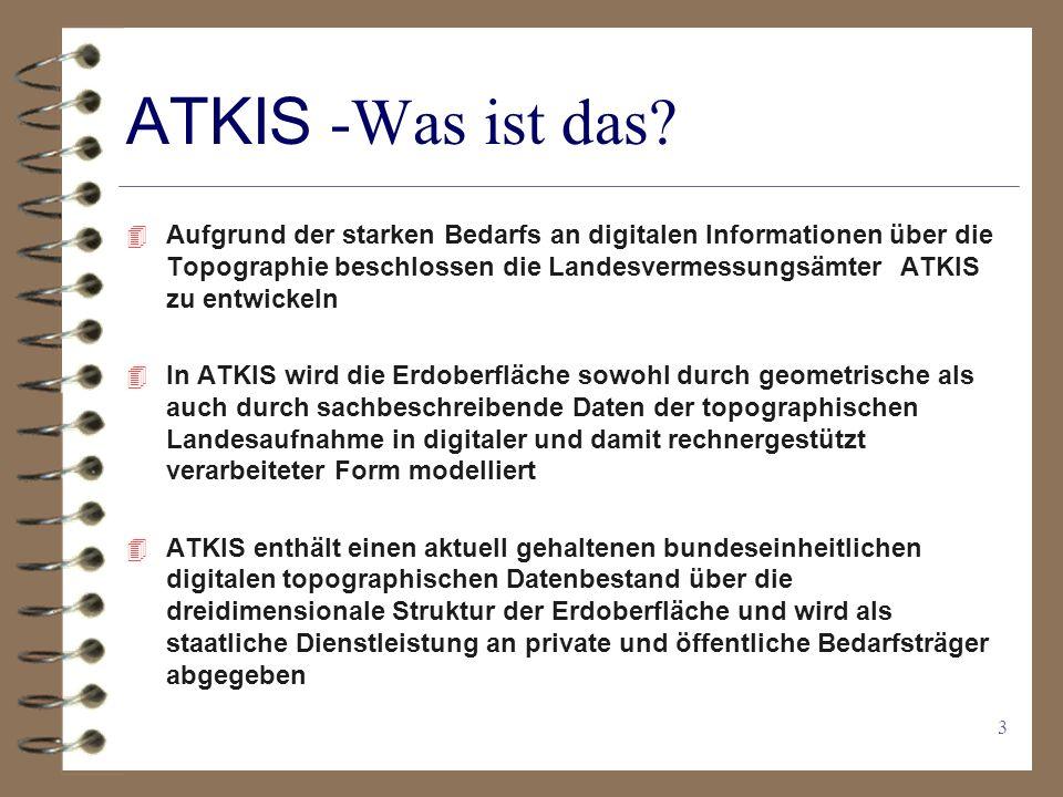 3 ATKIS -Was ist das.