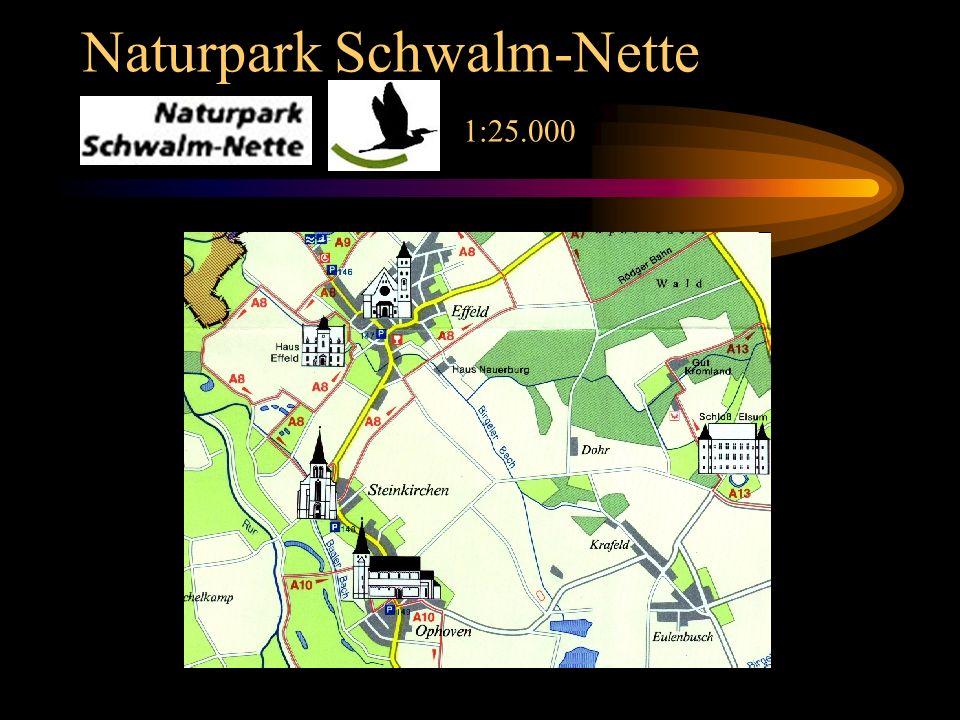 Naturpark Schwalm-Nette 1:25.000