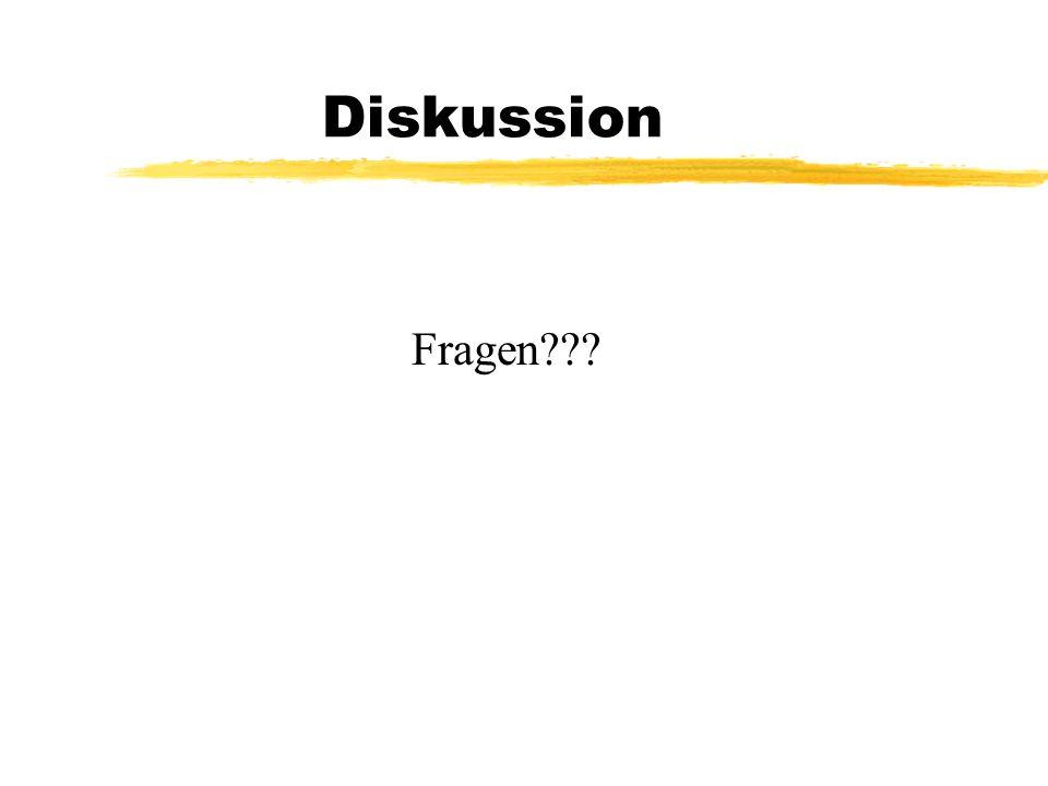 Diskussion Fragen???